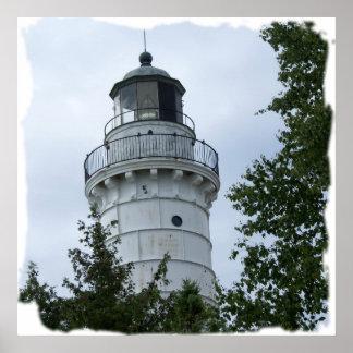 Cana Island Lighthouse Poster