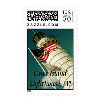 Cana Island Lighthouse, WI Postage Stamp