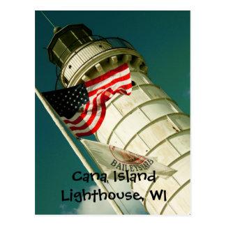 Cana Island Lighthouse, WI Postcard
