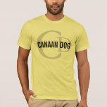 Canaan Dog Breed Monogram T-Shirt