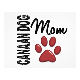 Canaan Dog Mom 2 Personalized Flyer