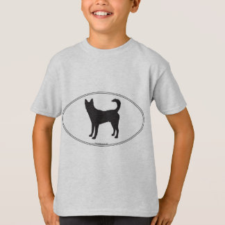 Canaan Dog Silhouette T-Shirt