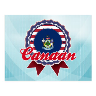 Canaan, ME Post Card