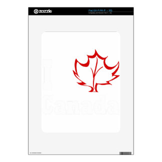 canada4 decal for iPad