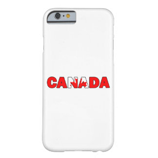 Canada 006 barely there iPhone 6 case