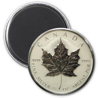 Canada 10oz Silver Coin Magnet