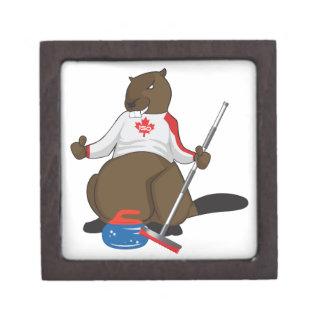 Canada 150 in 2017 Beaver Curling Main Gift Box