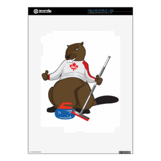 Canada 150 in 2017 Beaver Curling Main Skin For The iPad 2