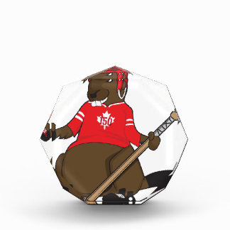 Canada 150 in 2017 Beaver Hockey Acrylic Award