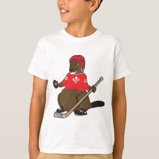 Canada 150 in 2017 Beaver Hockey T-Shirt