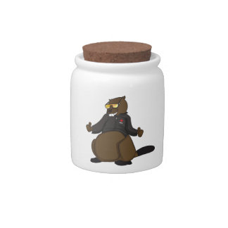 Canada 150 in 2017 Cool Beaver Merchandise Candy Jar