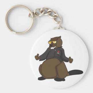 Canada 150 in 2017 Cool Beaver Merchandise Keychain