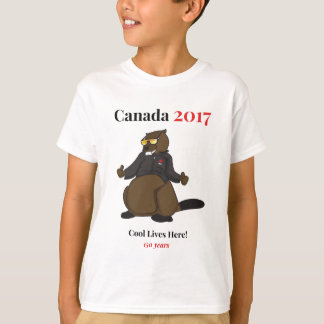 Canada 150 in 2017 Cool Lives Here T-Shirt