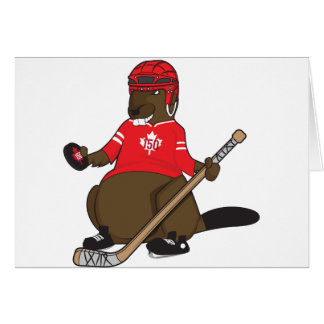 Canada 150 in 2017 Hockey Beaver Card