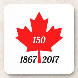 Canada 150 in 2017 maple leaf coaster
