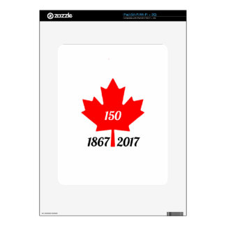 Canada 150 in 2017 maple leaf skins for the iPad