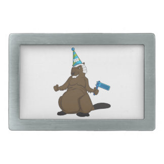 Canada 150 in 2017 Party Beaver Merchandise Belt Buckle