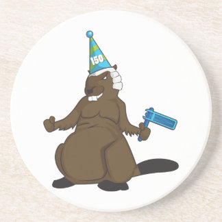 Canada 150 in 2017 Party Beaver Merchandise Coaster