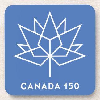 Canada 150 Logo Beverage Coaster
