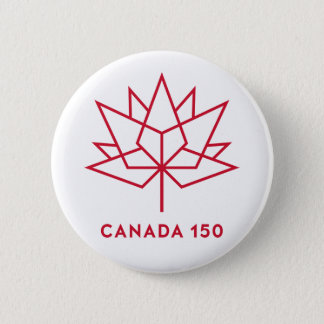 Canada 150 Logo Button