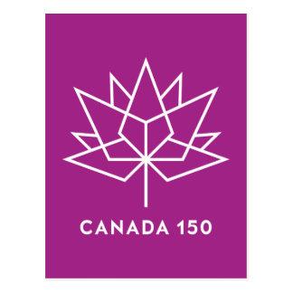 Canada 150 Logo Postcard
