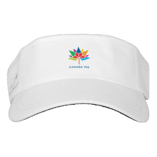Canada 150 Official Logo - Multicolor Visor