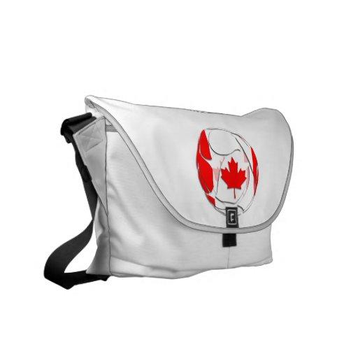 Canadá #1 bolsas messenger