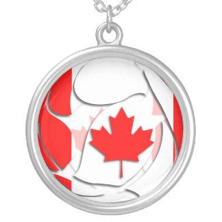 Canadá #1 colgante redondo