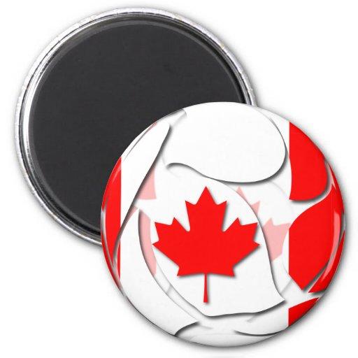 Canadá #1 imán de frigorífico