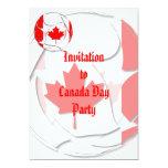 Canadá #1 invitación 12,7 x 17,8 cm