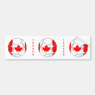 Canadá #1 pegatina para auto