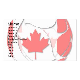 Canadá 1 tarjetas de visita