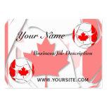 Canadá #1 tarjetas de visita grandes