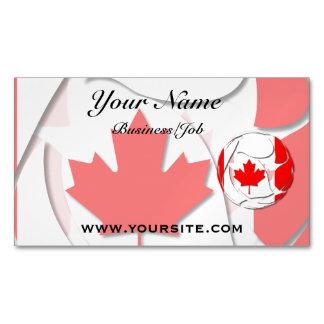 Canadá #1 tarjetas de visita magnéticas (paquete de 25)