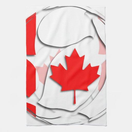 Canadá #1 toalla de mano