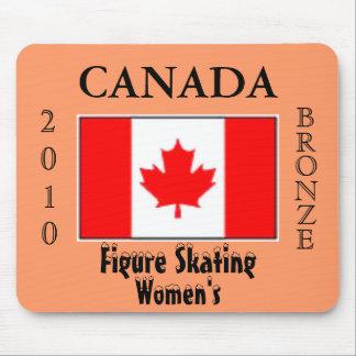 Canada  2010 Bronze (Figure Skating) Mousepads