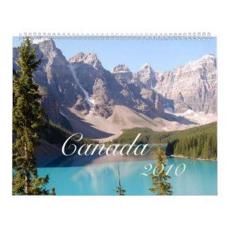 Canadá 2012 calendarios