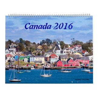 Canadá 2016 - Calendario grande