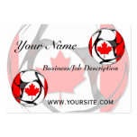 Canada #2 large business cards (Pack of 100)