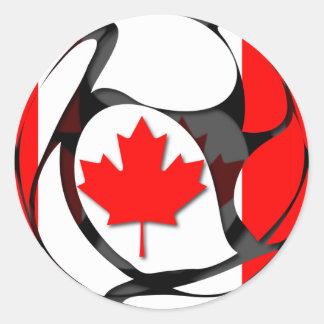Canadá #2 pegatina redonda