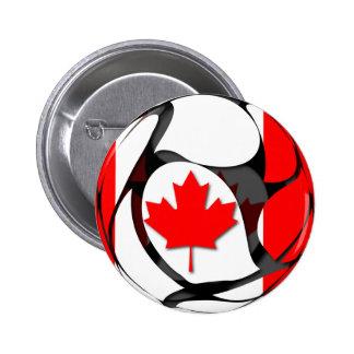 Canadá #2 pin redondo de 2 pulgadas