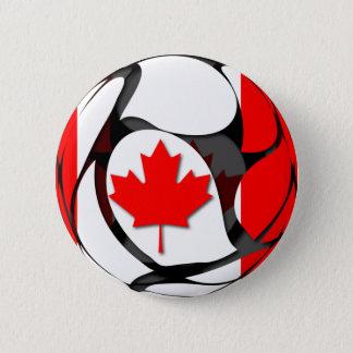 Canada #2 pinback button