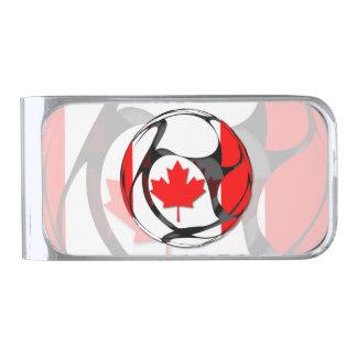 Canada #2 silver finish money clip