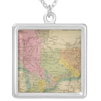 Canada 2 silver plated necklace