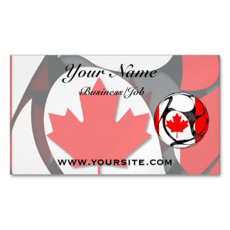 Canadá #2 tarjetas de visita magnéticas (paquete de 25)