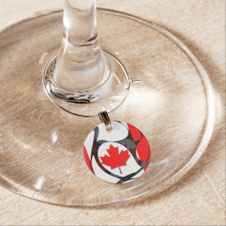 Canada #2 wine charm