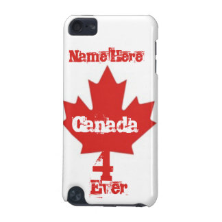 Canada 4 Ever/Maple Leaf iPod Touch 5G Cases