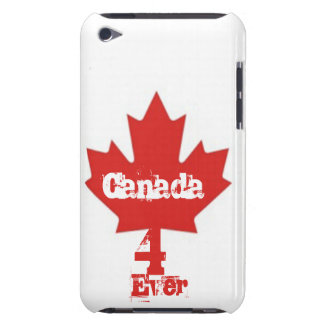 Canada 4 Ever/Red Maple Leaf Case-Mate iPod Touch Case