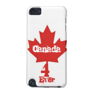 Canada 4 Ever/Red Maple Leaf iPod Touch 5G Cover