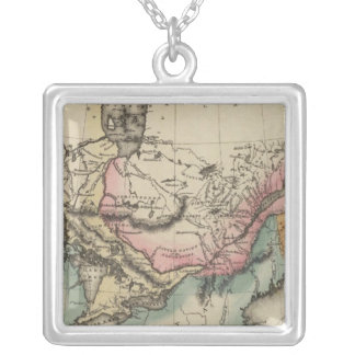 Canada 8 silver plated necklace